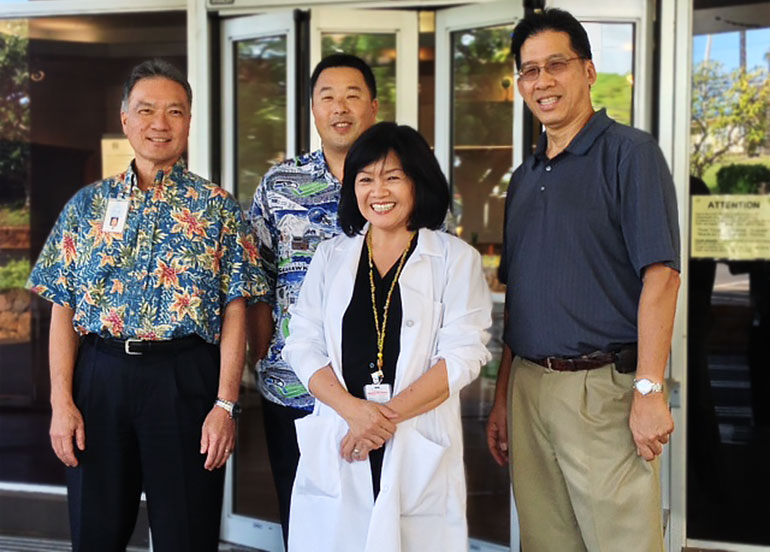 Leahi Hospital Staff Photo
